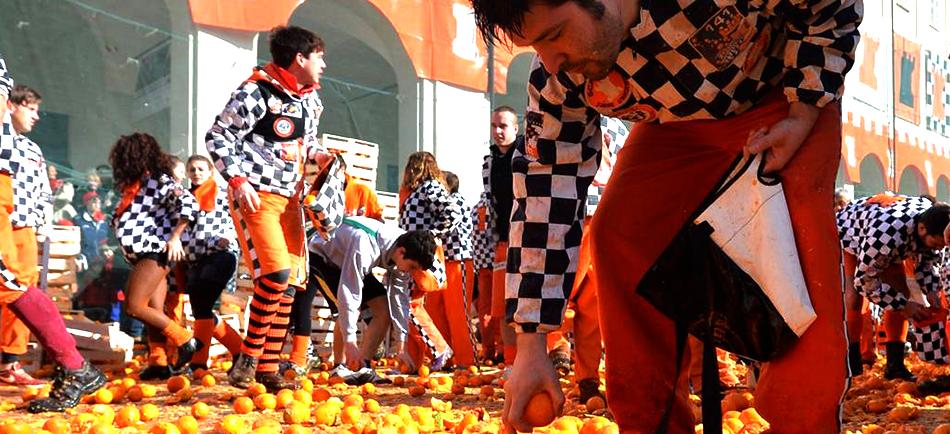 Batalla de las naranjas.