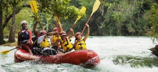Travel Zone Guadalajara, te lleva a disfruta del rafting.