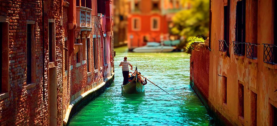 Descubre Venecia.