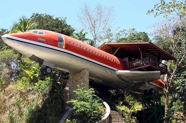 Hotel-avión en Costa Rica 1