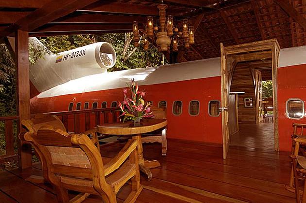 Hotel-avión en Costa Rica 2