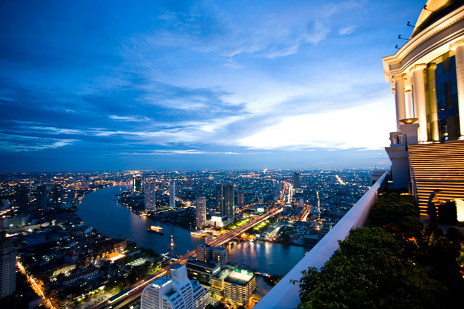 Torre Top of State, en Bangkok (Tailandia).