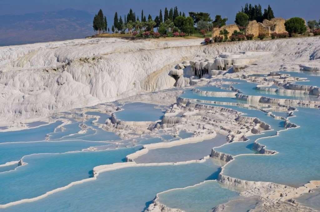 Cascada blanca de Pamukkale