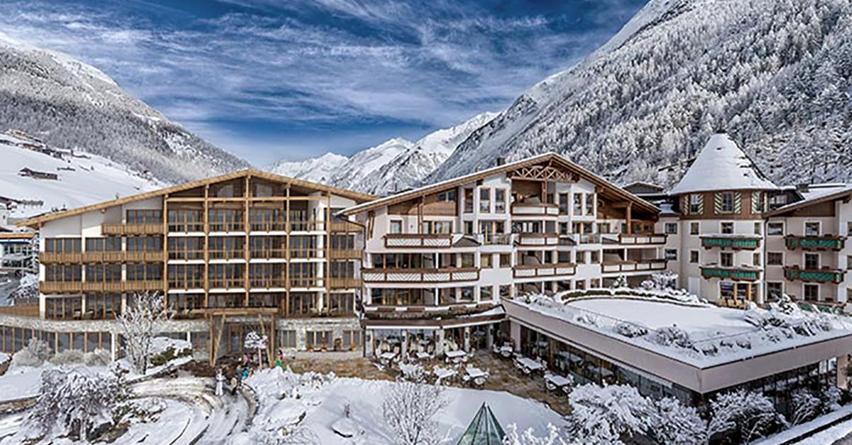 Das Central Hotel en Sölden, Austria