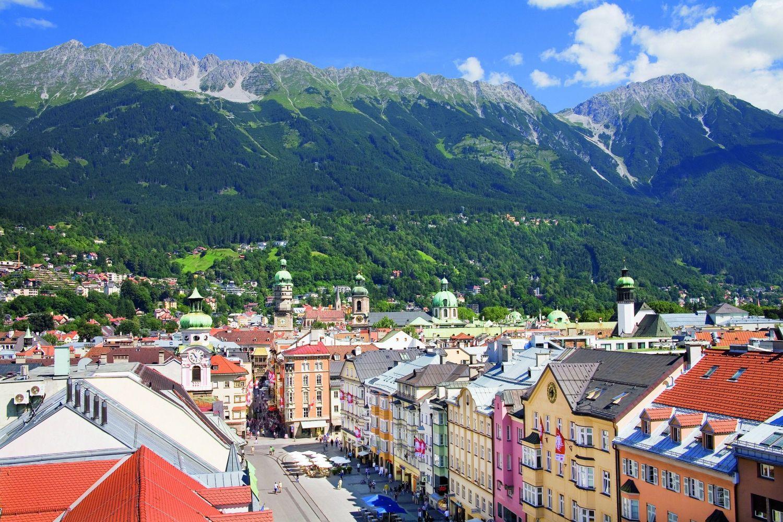 Stadt Innsbruck Sommer