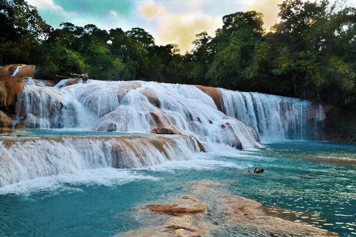 Las 5 mejores cascadas de m xico travel zone guadalajara for Cascadas artificiales de agua para piscinas