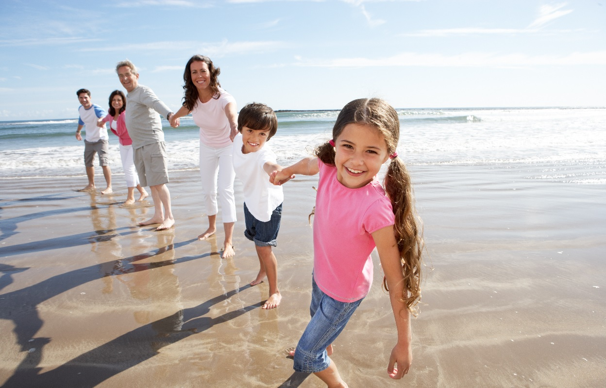 Familia-playa